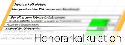 Honorarkalkulation