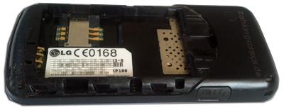 Prepaid Handy LG KP 100